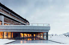 Luxe Mountainside Resorts - The Alpina Dolomites is Elegant and Eco-Conscious
