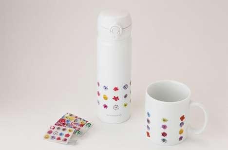 Floral Coffee Designs