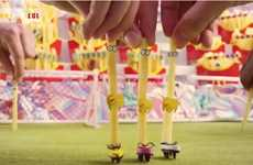 French Fry Football Re-Enactments - McDonald's FryFutbol Uses Fries to Recreate FIFA 2014 Highlights