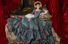 Child Icon Photography - Photographer Adriana Duque Creates Paint-Like Victorian Images