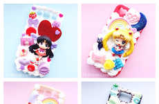 90s Cartoon Tech Cases - These Custom Sailor Moon Phone Protectors Celebrate the Show's Return