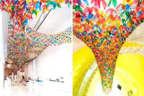 Technicolor Floral Canopies