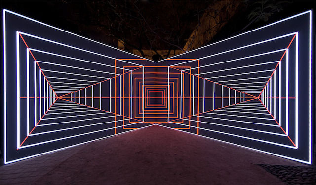 Hypnotic Lighting Installations