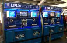 Lager Vending Machines - The DraftServ Beverage Vending Machine Lets the Consumers Be the Bartender