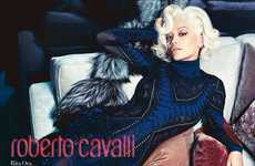 Glamorous Songstress Campaigns - Rita Ora Poses for the Roberto Cavalli Fall/Winter 2014 Photoshoot