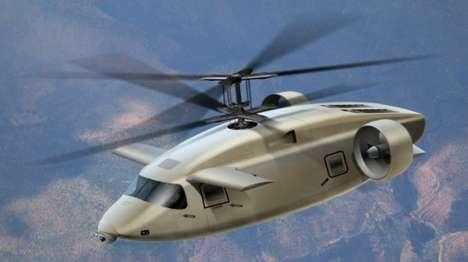 Futuristic Military Aircraft