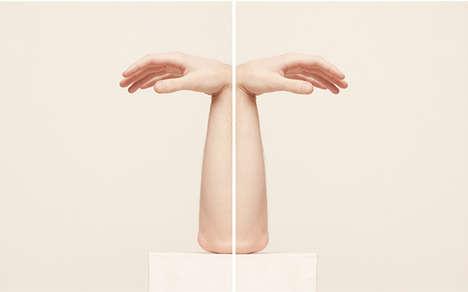Fleshy Symmetrical Sculptures