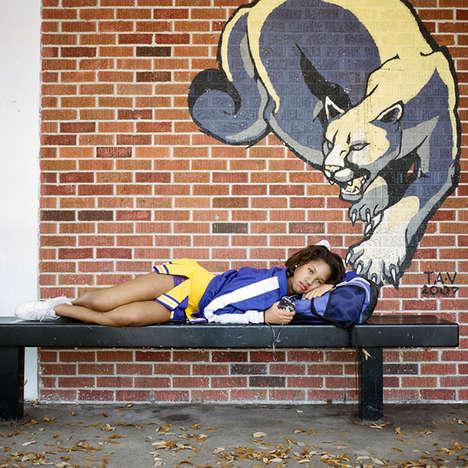 Buoyant Cheerleading Photography