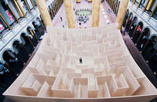 Paradoxical Maze Installations