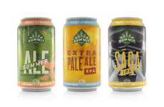 Proud Minnesotan Beer Cans - The Summit Brewing Co.'s Beer Cans Celebrate Being Made in Minnesota