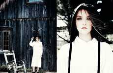 Modern Mennonite Editorials - Glassbook's La Campagne Fashion Story Highlights Sophisticated Styles