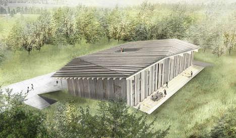 Timber-Clad Headquarters