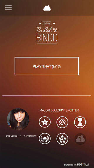 Nonsense-Spotting Apps - DDB Tribal Dusseldorf's Bingo App Points Out the BS in Advertising