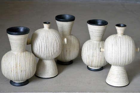 Organically Textured Ceramics