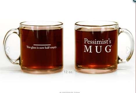 Darkly Pessimistic Glassware