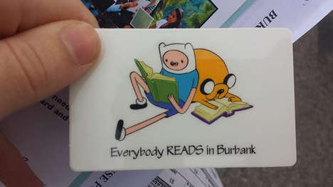 Adventurous Library Cards