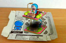 Augmented Reality Snack Boxes - Special Snack Boxes Promote the Stand by Me Doraemon Movie in 3D