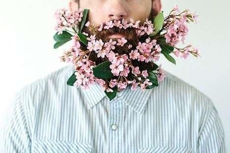 Hipster Flower Beards