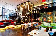 Tech-Centered Accommodation - The CitizenM Hotel Design