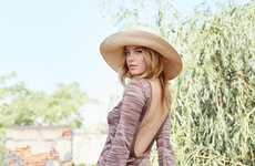 Laidback Vintage Lookbooks - Camille Rowe Stars in the Reformation Capsule Collection Campaign