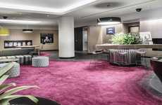Open-Concept Hotel Lobbies - Mercure's Hotel Lobby Design Reduces Barriers Between Staff & Guests