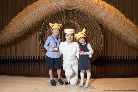 Anime Hotel Campaigns - The Pokemon Hotel Adventure is Part of a New Peninsula Tokyo Campaign