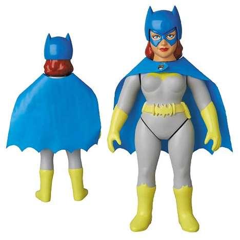 Retro Superhero Dolls