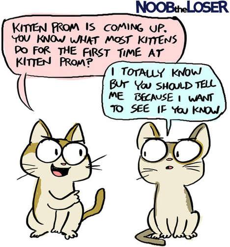 Comedic Viral GIF Comics