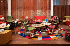 Colorful Hotel Lobbies - The 25hours Hotel Zurich West is as Eclectic and Artistic as It is Vibrant