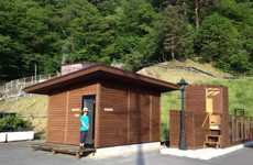 Bartering Biomass Teahouses - The Methane Cafe is an Eco Cafe in Japan That Trades Trash for Tea