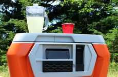 Multifunctional Summer Coolers - Coolest is a High Tech Cooler That Integrates a Blender & Speakers