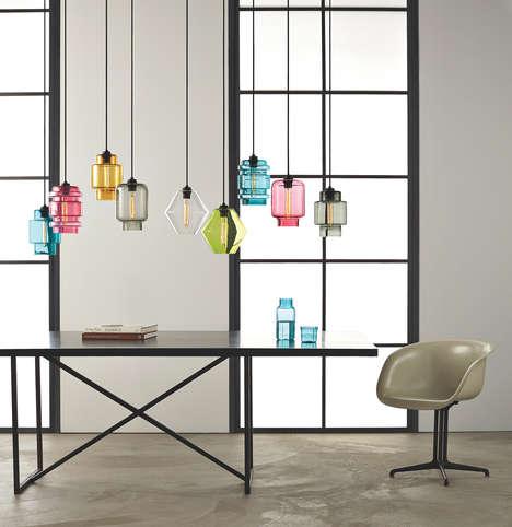 Colorful Glass Lighting