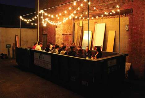 Food Scrap Dining - The Salvage Supperclub Initiative Serves Food From Dumpsters in a 6 Course Meal