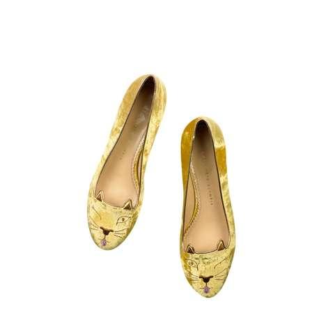 Cat-Inspired Footwear