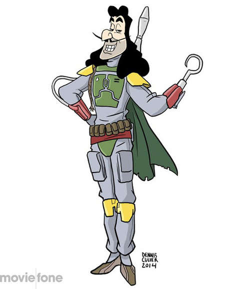 Cartoon Villain Illustrations
