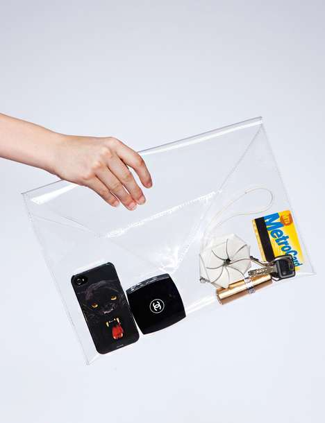 Elegantly Transparent Carryalls