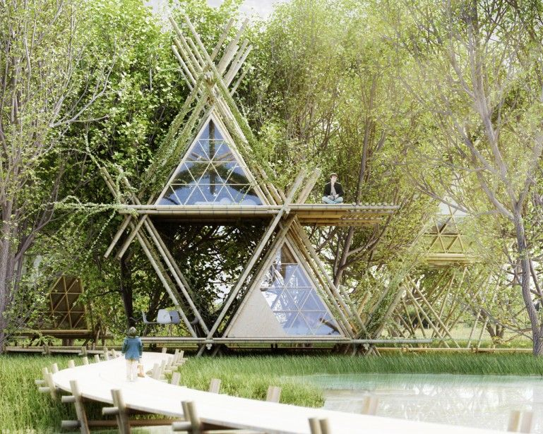 Ecological Treehouse Hotels