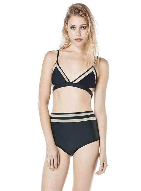 Sporty Minimalism Swimwear