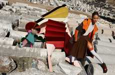Geometric Fashion Ads - The Missoni Fall/Winter 2014 Campaign is Stunning and Colorful