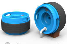 Rollable Water Containers - The Water Roll Helps People Collect Fresh Water in Remote Locations