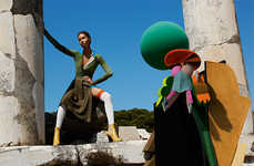 Futuristic Abstract Campaigns - The Latest Missoni Campaign Inspects Geometric Forms