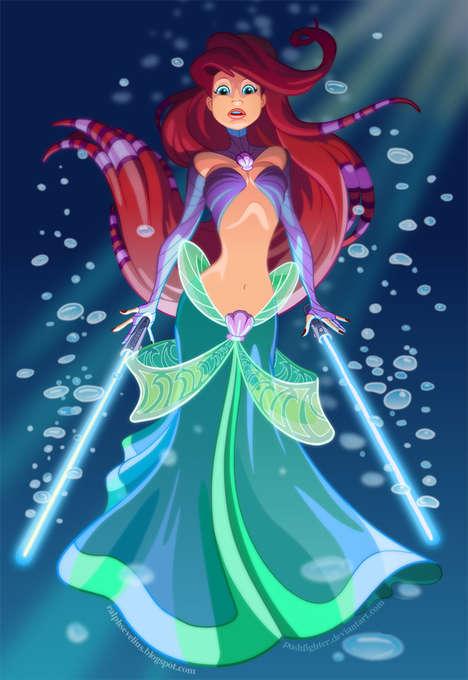 Fighter Disney Princesses