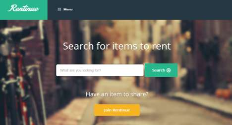 Communal Rental Services - Rentinue's Rental Directory Helps You Find and Locate Items for Rent