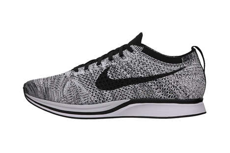 Crochet-Like Sneakers - The Nike Flyknit Racer Summer 2014 Collection Introduces New Colors