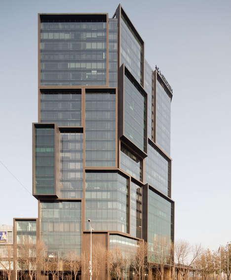 Rectangular Stacked Hotels