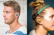Wireless Custom Earbuds - These 3D Printed OwnPhones Are Uniquely Designed Not to Fall Out