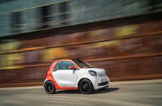 Subtely Upgraded Autos - The Smart ForTwo Car Receives Slight Adjustments