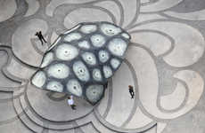 Robot-Built Pavilions - The ICD ITKE Research Pavilion is Modeled After a Flying Beetle