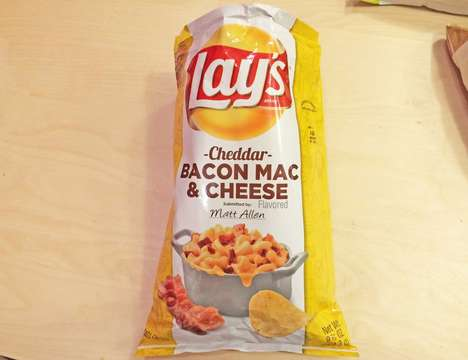 Comforting Chip Flavors