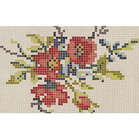 Crocheted Mosaic Carpets